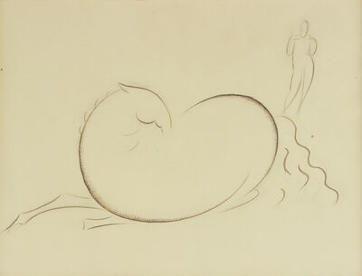 Elie Nadelman, 'Reclining Horse', ca. 1912