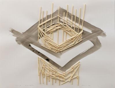 Tadashi Kawamata, 'Plan for Annely Juda (No 3)', 2015