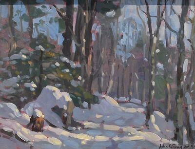 John C. Traynor, 'Snowy Path', 1997