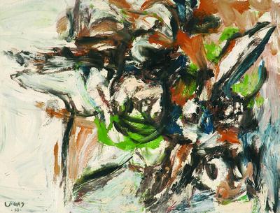 Oswaldo Vigas, 'Composición la caída', 1963