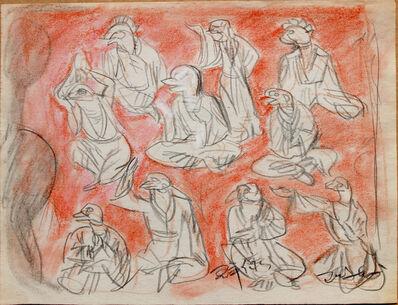 Pei Zhuangxin, 'Sketch ⼿稿《諸神的旨意》', 2007