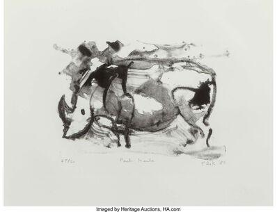 Elaine de Kooning, 'Peche-Merle', 1985