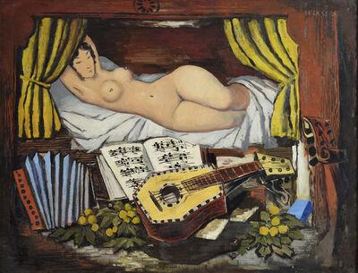 Ismael González de la Serna, 'Jeune Fille à l'Accordéon', ca. 1942