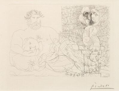 Pablo Picasso, 'Le Repos du sculpteur et la sculpture surrealiste', 1933
