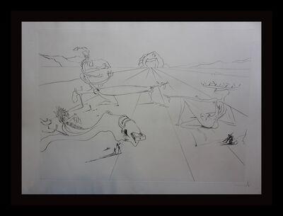 Salvador Dalí, 'Paysage Surréaliste ', 1974