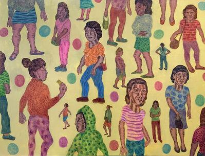 Jose Lozano, 'Tamale Lady Wallpaper Swatch', 2020
