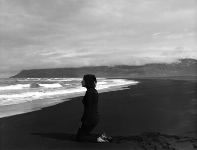Agnieszka Sosnowska, 'Waiting, Self Portrait, Héraðsandur,  Iceland', 2015