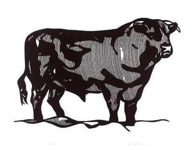 Roy Lichtenstein, 'Bull', 1973