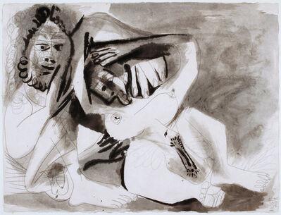 Pablo Picasso, 'Homme et femme nus', 29 November 1971