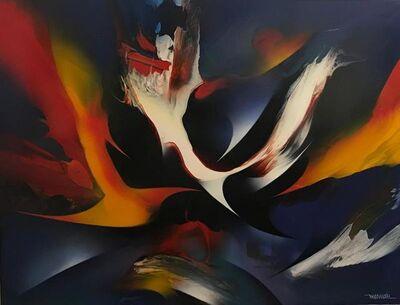 Leonardo Nierman, 'Magical flight', ca. 1982