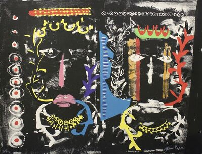 John Piper, 'Foliate Head II [Levinson 246]', 1975