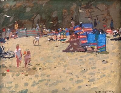 Ken Howard, 'Beach Scene', 20th Century