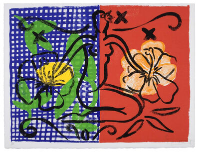 Stefan Szczesny, 'Mustique Flowers Mustique Diary', 1999