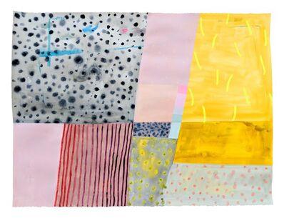 Ashely Peifer, 'color test', 2018