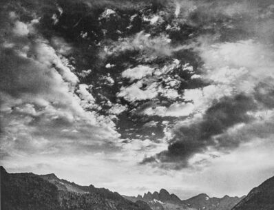 Ansel Adams, 'Devils Crags from Palisade Creek Canyon', 1939