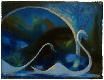 Joseph Stella, 'Swans (Night)', 1917