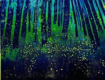 Nancer Lemoins, 'forest fireflies', 2018