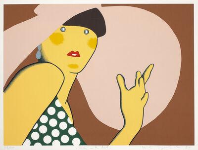 """Kiki Kogelnik, '""""Lady with Hat""""', 1980"""