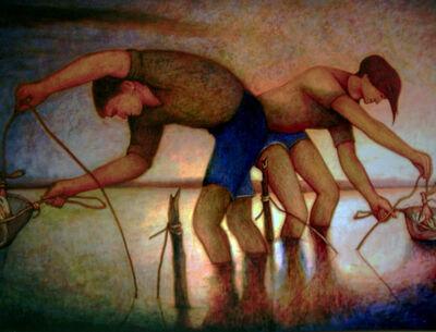 Bob Marchant, 'The Yabbie Catchers', 2012