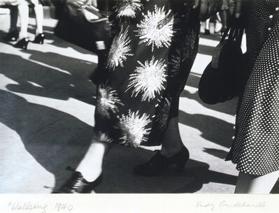 Rudy Burckhardt, 'Walking, New York', ca. 1939-40