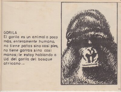 Haroldo González, 'El gran zoo', 1973