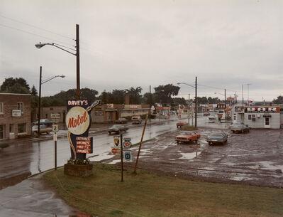 Stephen Shore, 'U.S. 2, Ironwood, Michigan, July 9, 1973', 1973