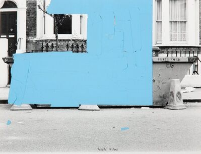John Beech, 'Tape Drawing (London)', 2002