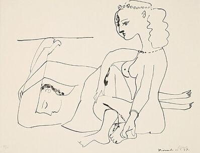 Pablo Picasso, 'Femmes sur la plage', 1947