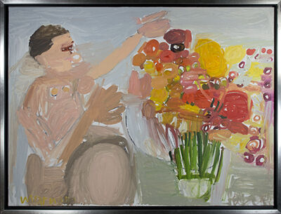 "Maryam Alakbarli, 'Fleurs Pour Mademoiselle ""Flowers for Mademoiselle""', 2016"