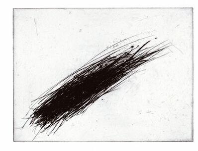 Arnulf Rainer, 'Kosmos I (schwarz)', 2003