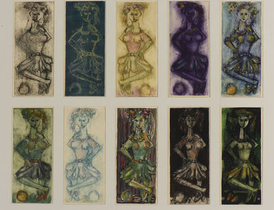 Yehuda Bacon, 'Variations on a Theme', 1957