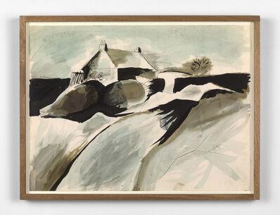 John Craxton, 'House in Rocky Landscape', 1945