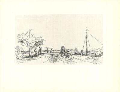 Rembrandt van Rijn, 'Six's Bridges', 1968