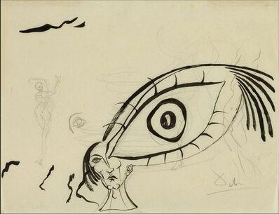 Salvador Dalí, 'Etude de l'oeil', 1946