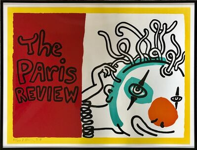 Keith Haring, 'Paris Review', 1989