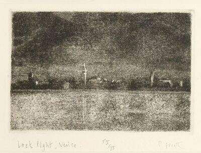 Peter Freeth RA, 'LAST NIGHT, VENICE', signed