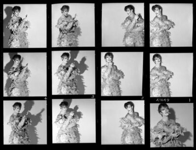 Brian Duffy, 'David Bowie: Scary Monsters (& Super Creeps), Contact Sheet', 1980