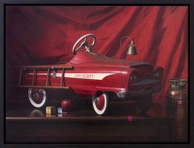 Tony Curanaj, 'Fire Engine Chronicle', 2017