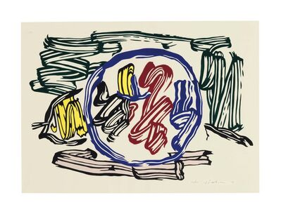 Roy Lichtenstein, 'Apple and Lemon', 1983