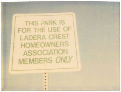 Stefanie Schneider, 'For Members only (Suburbia) ', 2004
