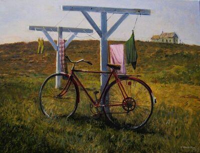 Frederick Kubitz, 'Bicycle & Laundry', 2020