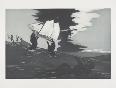 Kara Walker, 'An Unpeopled Land in Uncharted Waters: No World', 2010
