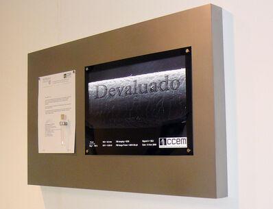 Rafael Lozano-Hemmer, 'Devaluado', 2009