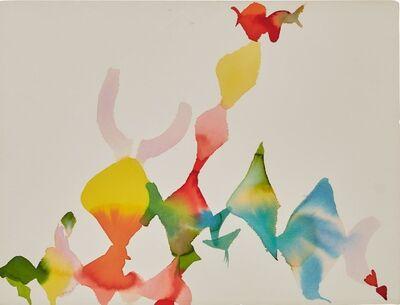 Alice Baber, 'Pink Flute of Jaguar', 1982