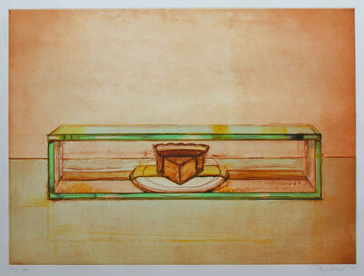 Wayne Thiebaud, 'Pie Case'