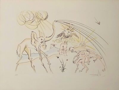 Salvador Dalí, 'The animals ill with the plague', 1974