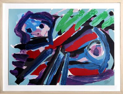 Karel Appel, 'Walking With My Bird', 1979