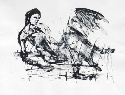 Sidney Nolan, 'Leda and the Swan', 1961