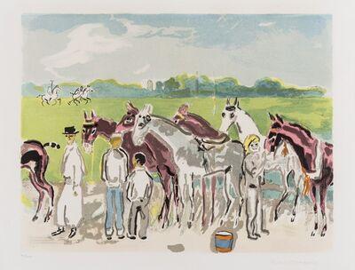 Kees van Dongen, 'Polo, Deauville (Juffermans 31)', 1957