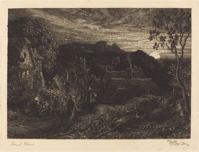 Samuel Palmer, 'The Bellman', in or before 1879